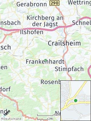 Here Map of Frankenhardt
