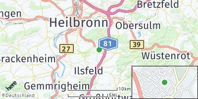 Google Map of Untergruppenbach