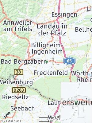 Here Map of Hergersweiler