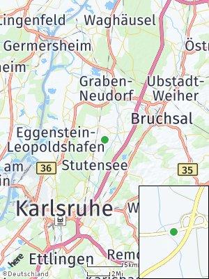 Here Map of Stutensee