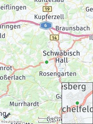 Here Map of Michelfeld