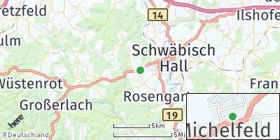 Google Map of Michelfeld