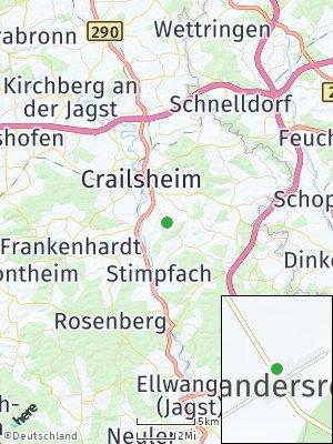 Here Map of Alexandersreut