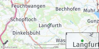 Google Map of Langfurth