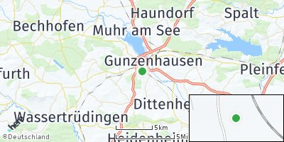 Google Map of Edersfeld