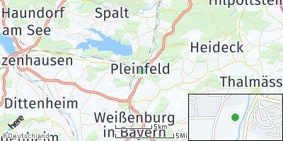Google Map of Pleinfeld