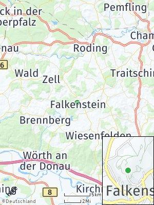 Here Map of Falkenstein