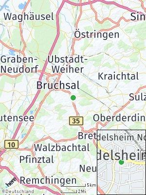 Here Map of Heidelsheim