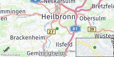 Google Map of Flein bei Heilbronn