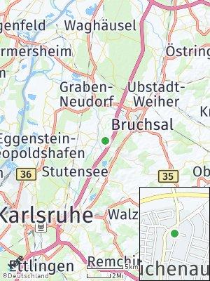 Here Map of Büchenau