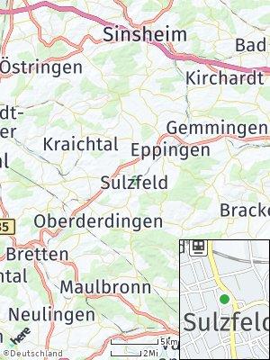 Here Map of Sulzfeld