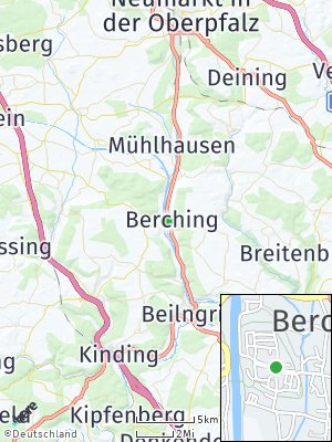 Here Map of Berching