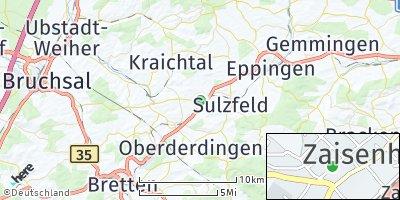 Google Map of Zaisenhausen