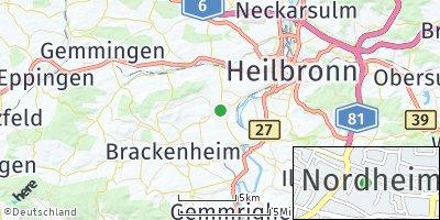 Google Map of Nordheim