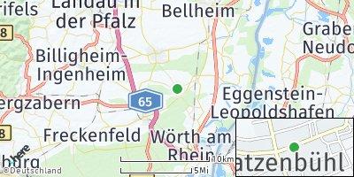Google Map of Hatzenbühl
