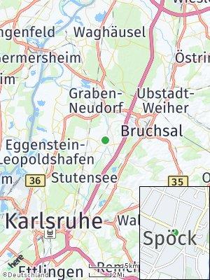 Here Map of Spöck