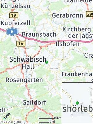 Here Map of Matheshörlebach