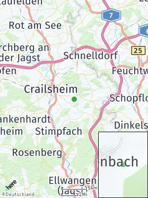 Here Map of Ofenbach