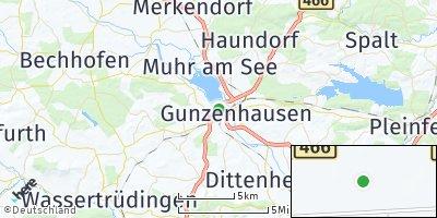 Google Map of Unterwurmbach