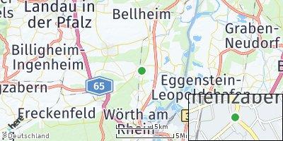 Google Map of Rheinzabern