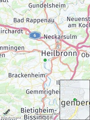 Here Map of Klingenberg