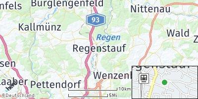 Google Map of Regenstauf
