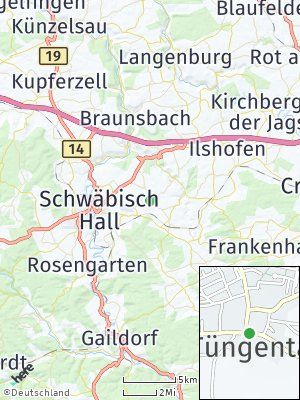 Here Map of Tüngental