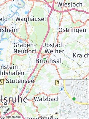 Here Map of Bruchsal
