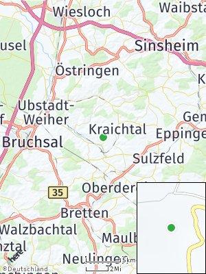 Here Map of Kraichtal