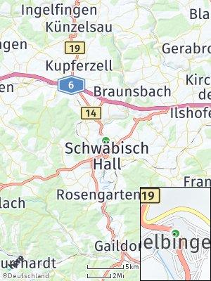 Here Map of Gelbingen