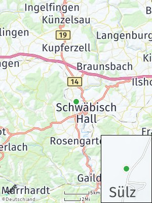 Here Map of Sülz
