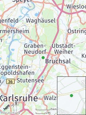 Here Map of Karlsdorf-Neuthard