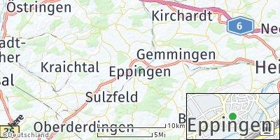 Google Map of Eppingen