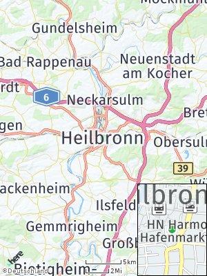 Here Map of Heilbronn