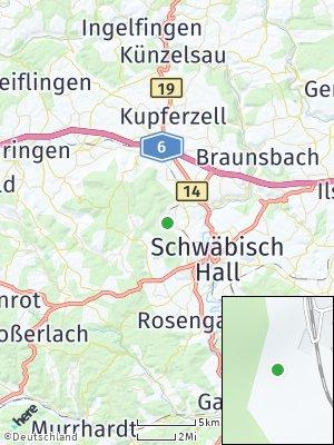 Here Map of Frühlingsberg