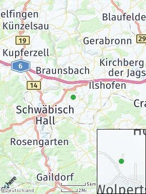Here Map of Wolpertsdorf