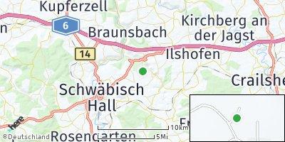 Google Map of Wolpertsdorf