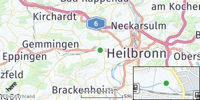 Google Map of Leingarten