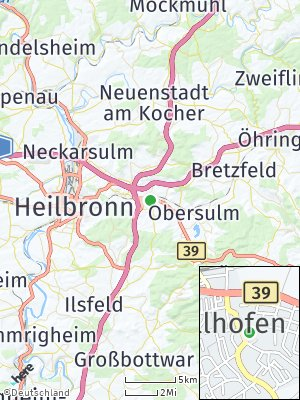 Here Map of Ellhofen