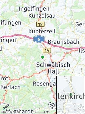 Here Map of Gailenkirchen