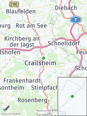 Here Map of Crailsheim