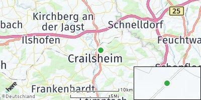Google Map of Crailsheim