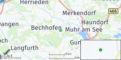 Google Map of Arberg