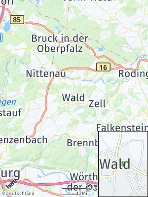 Here Map of Wald