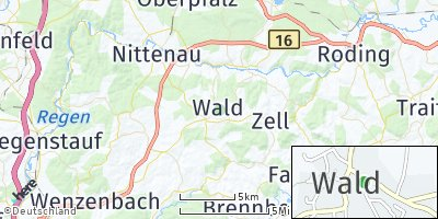 Google Map of Wald