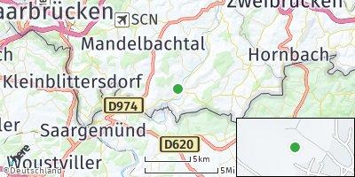 Google Map of Gersheim