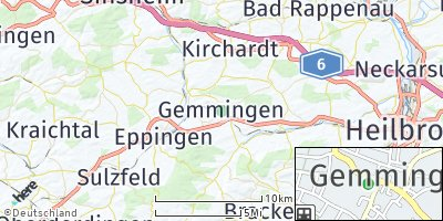 Google Map of Gemmingen