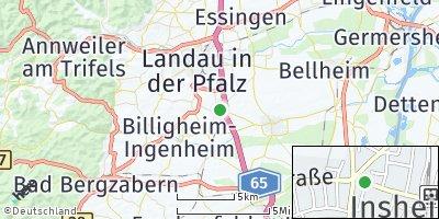 Google Map of Insheim