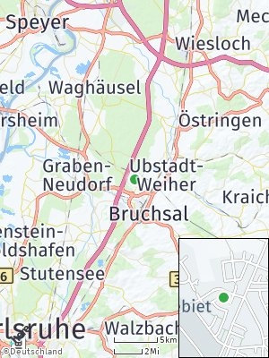 Here Map of Forst