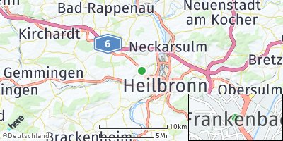 Google Map of Frankenbach